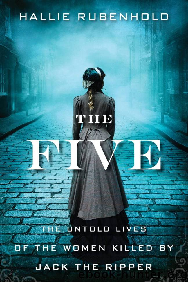 The Five By Hallie Rubenhold Book Cover